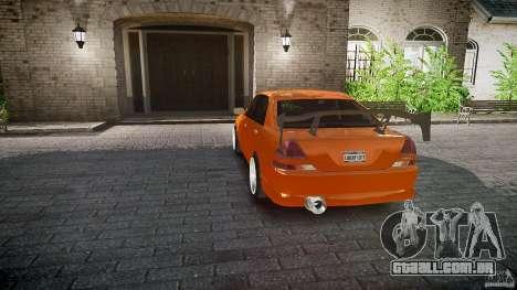 Toyota JZX110 para GTA 4 rodas