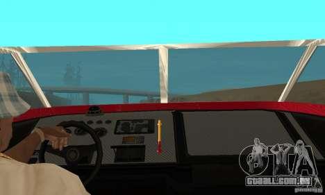 GTAIV Jetmax para GTA San Andreas vista traseira