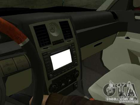 Chrysler 300C HEMI 5.7 2009 para vista lateral GTA San Andreas