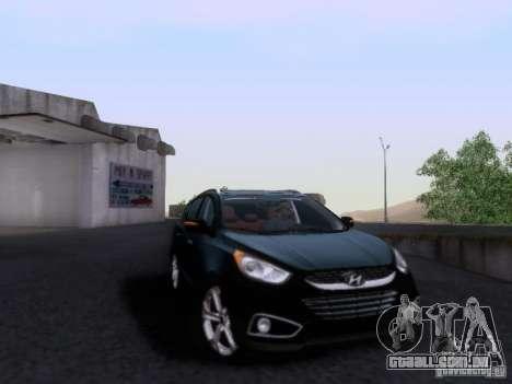 Hyundai ix35 para GTA San Andreas vista traseira