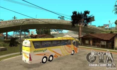 Irizar PB Scania K420 6x2 para GTA San Andreas vista direita