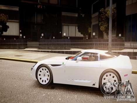 Alfa Romeo TZ3 Stradale Zagato para GTA 4 esquerda vista