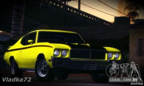 Buick GSX 1970 v1.0 para GTA San Andreas esquerda vista