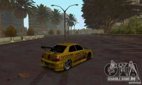 NFS Most Wanted - Paradise para GTA San Andreas terceira tela