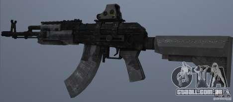 AK47+Holographic sight para GTA San Andreas segunda tela