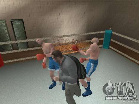 O sistema de luta de GTA IV para GTA San Andreas