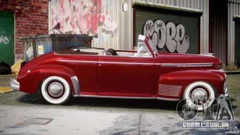Chevrolet Special DeLuxe 1941 para GTA 4 vista interior