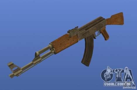 Weapon Textures para GTA 4 por diante tela