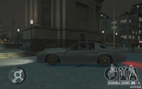Buffalo IV para GTA 4 esquerda vista