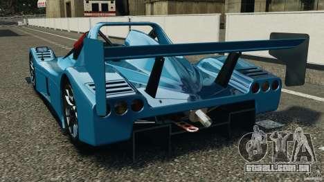 Radical SR3 para GTA 4 traseira esquerda vista
