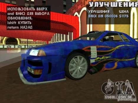 SA HQ Wheels para GTA San Andreas segunda tela