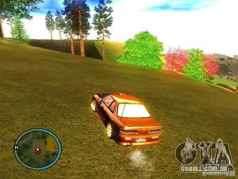 Nissan Silvia para GTA San Andreas traseira esquerda vista