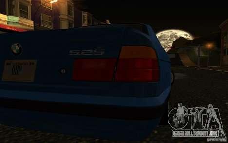 BMW 525 E34 V.3 para GTA San Andreas vista direita