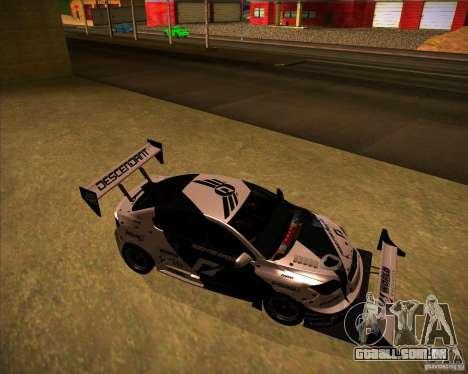 Scion tC para GTA San Andreas vista direita