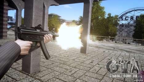 H&K MP5k para GTA 4 por diante tela