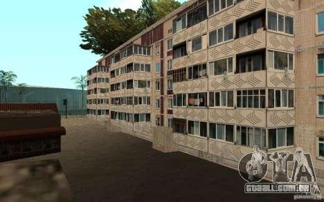 Uma pequena cidade russa na Grove Street para GTA San Andreas