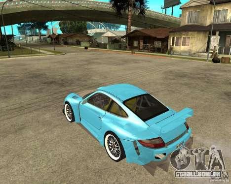 Porsche 911 Turbo Grip Tuning para GTA San Andreas esquerda vista