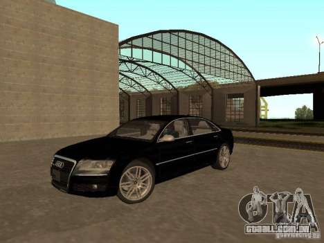Audi A8 W12 S-Line para GTA San Andreas