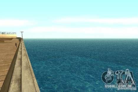 Água nova textura para GTA San Andreas segunda tela