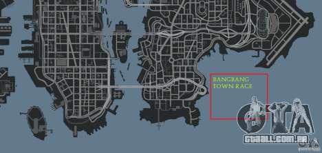 BangBang Town Race para GTA 4 décimo tela
