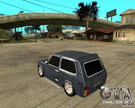 NIVA Mustang para GTA San Andreas esquerda vista