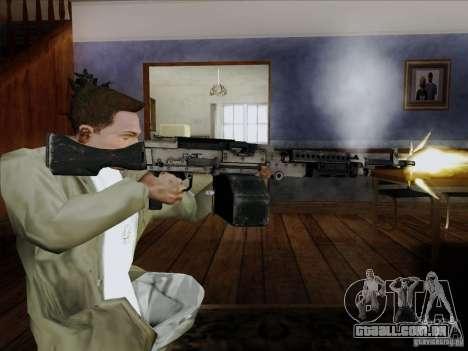 M240B para GTA San Andreas terceira tela