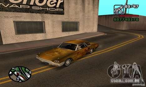 Ford Thunderbird 1964 para GTA San Andreas vista traseira