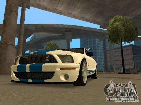 Ford Mustang GT para GTA San Andreas esquerda vista