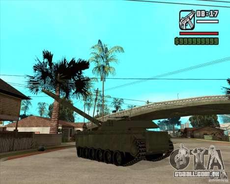 TT-140 mb para GTA San Andreas traseira esquerda vista