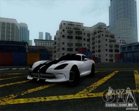 Dodge Viper SRT 2013 para GTA San Andreas