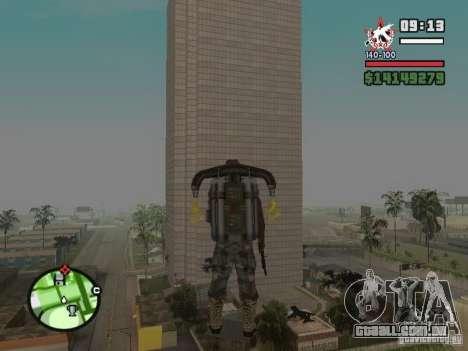 Construção de casas 2 para GTA San Andreas quinto tela