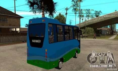Iveco Eurocity para GTA San Andreas vista direita