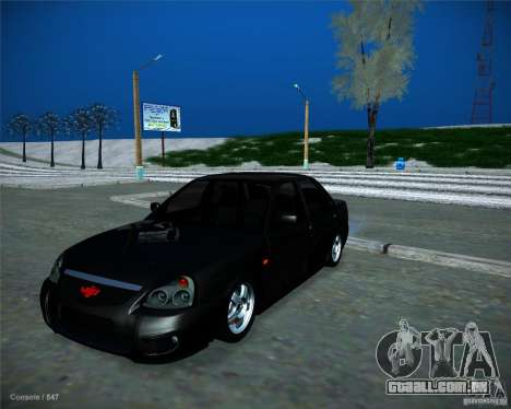 Lada Priora Vip Style para GTA San Andreas