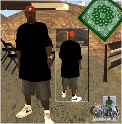 Pele Pack Getto para GTA San Andreas