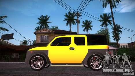 Honda Element LX para GTA San Andreas esquerda vista