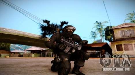 Turcotte Rapid SMG para GTA San Andreas segunda tela