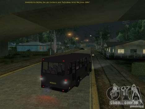 Bogdan IVLM A091 para GTA San Andreas vista traseira