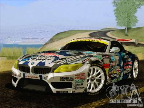 BMW Z4 E89 GT3 2010 Final para GTA San Andreas
