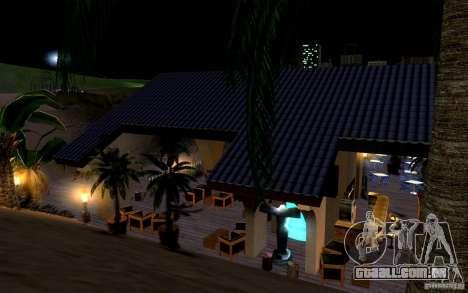 Clube de praia para GTA San Andreas sexta tela