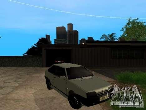 VAZ 2108 Gangsta Edition para GTA San Andreas