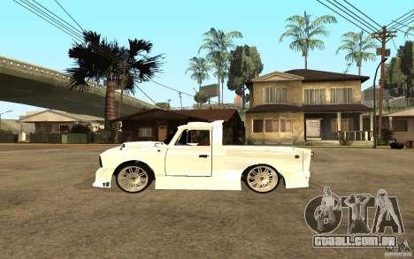 IZH 27151 para GTA San Andreas esquerda vista