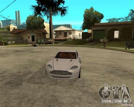 Aston Martin VANTAGE concept 2003 para GTA San Andreas vista traseira