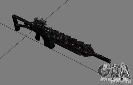 Um conjunto de armas do perseguidor V3 para GTA San Andreas quinto tela