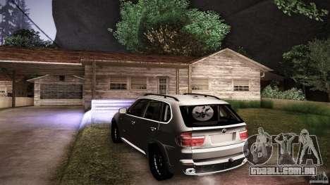 BMW X5 with Wagon BEAM Tuning para o motor de GTA San Andreas