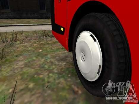 Mercedes Travego para GTA 4 vista inferior