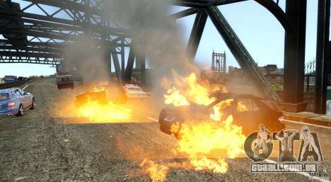 Explosion & Fire Tweak 1.0 para GTA 4 terceira tela