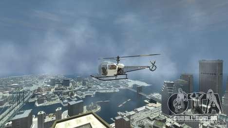 Sparrow para GTA 4 vista direita