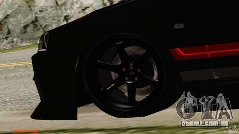 Nissan Skyline ER34 para GTA San Andreas traseira esquerda vista