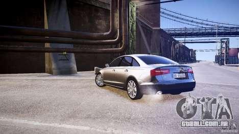 Audi A6 v1.0 para GTA 4 vista direita
