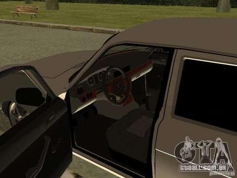 GAZ Volga de 3102 para GTA San Andreas vista traseira